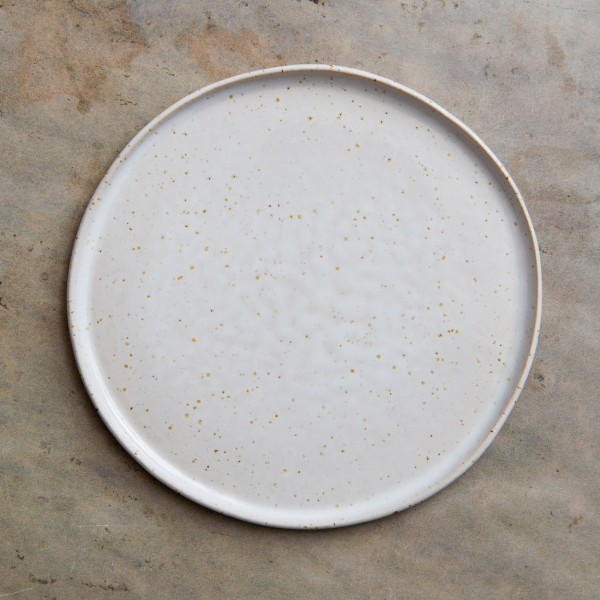 Farfurie Sable Alb 20cm